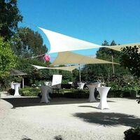 Cocktails sur le jardin, face au Mont Saint Michel