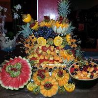 Cascade de fruit réalisée par nos soins