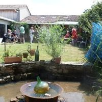 La pause au jardin