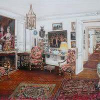 Les salons vus par l'artiste guillamume hg williams