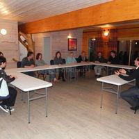 Salle de seminaire un soir
