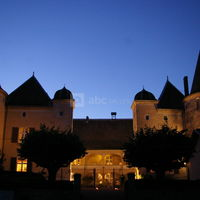 Château en soirée