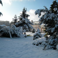 Le château l'hiver
