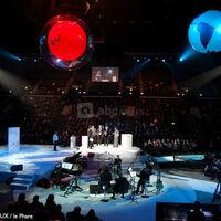 Salle principale convention