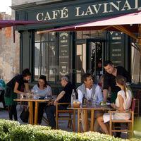 Terrasse Café Lavinal
