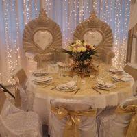 Table dîner des mariés