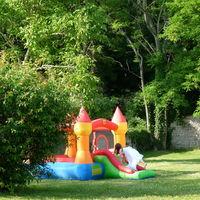 Chateau gonflable pour les enfants