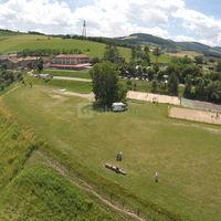 Domaine de la Barollière, vue aérienne