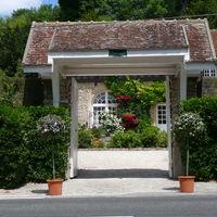 Porche d'entrée du Domaine