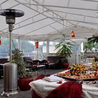 Terrasse panoramique couverte et chauffée aux beaux jours...
