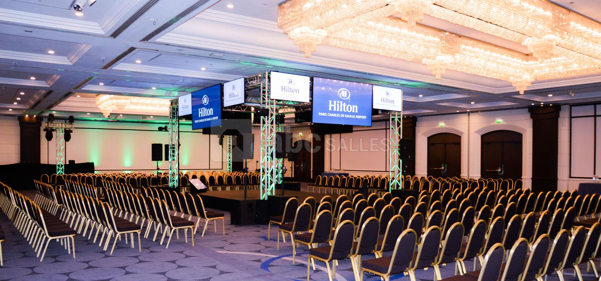 Hilton Paris Charles De Gaulle Abc Salles