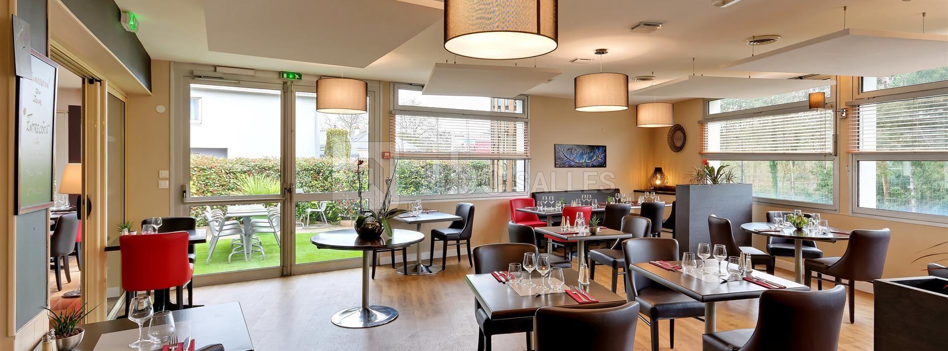 Beaujoire Hôtel - Restaurant Le Jardin - ABC Salles
