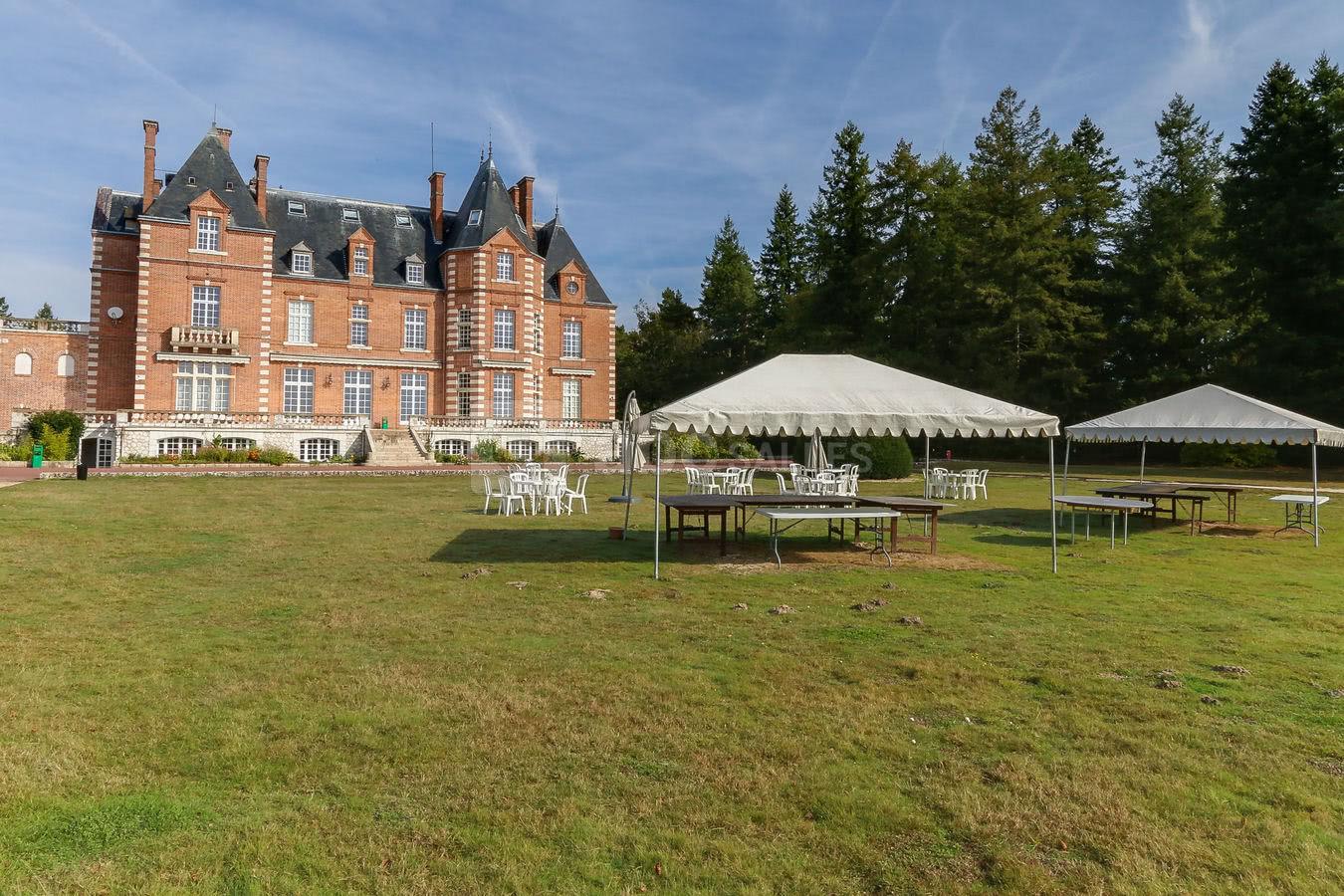 nouveau sommet meilleur site web sortie en ligne Hôtel Domaine de Chalès - ABC Salles